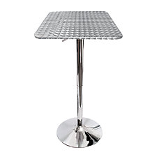 LumiSource Bistro Bar Table Square 41