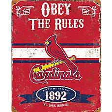Party Animal St Louis Cardinals Embossed