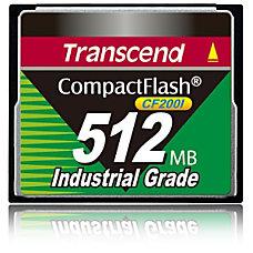 Transcend CF200I 512 MB CompactFlash