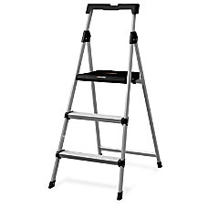 Louisville Davidson Ladders 3 Steel Step