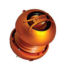 X mini UNO Capsule Speaker Orange