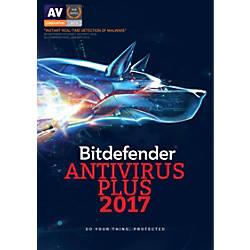 BitDefender Antivirus Plus 2017 For 1