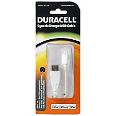 Duracell Lightning USB Sync And Charge