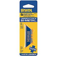 IRWIN Bi Metal Utility Blades 5pack