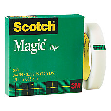 Scotch Magic 810 Tape 34 x
