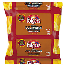Folgers Colombian Coffee Filter Packs 14