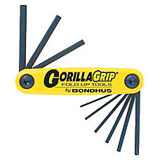 Bondhus GorillaGrip 9 Piece Fold Up