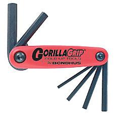 Bondhus GorillaGrip HF9S 7 Piece Fold