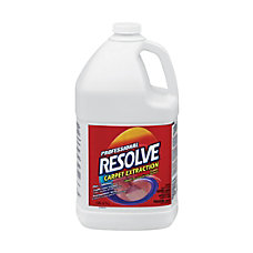 Resolve Professional Carpet Extraction Cleaner 1