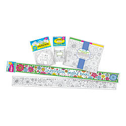 Barker Creek Classroom Decor Set Color