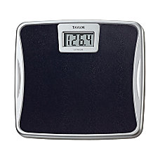 Taylor Digital Bathroom Scale Black