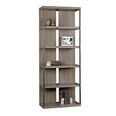 Sauder International Lux 5 Shelf Bookcase