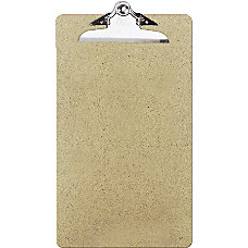 OIC 100percent Recycled Hardboard Clipboard Legal
