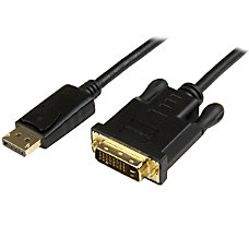 StarTechcom DisplayPort to DVI Converter Cable