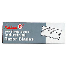Red Devil Single Edge Razor Blades