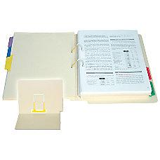 SJ Paper Medical Records Fastener Folders