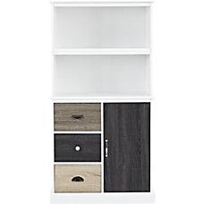 Ameriwood Altra Mercer 2 Shelf Storage