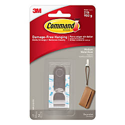 3M Command Modern Metal Hook Medium