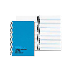 Mead Grad 30percent Recycled Wirebound Notebook