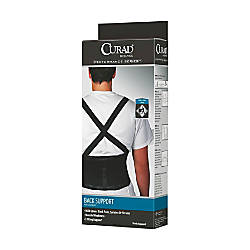 CURAD Back Support Large Black