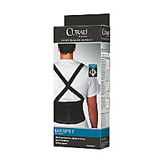 CURAD Back Support Large Black