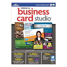 Summitsoft Business Card Studio Traditional Disc