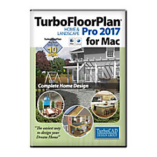 TurboFloorPlan Home Landscape Pro 2017 Mac