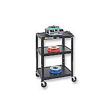 Quartet Steel Adjustable Height Cart 26