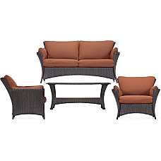 Hanover Strathmere Allure 4 Piece Seating