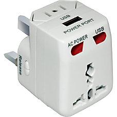 Mizco DigiPower USB Travel AC Power