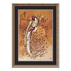 Amanti Art Goddess Of Wealth Framed