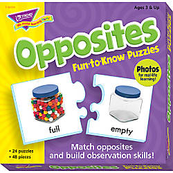 Trend Fun To Know Puzzles Opposites