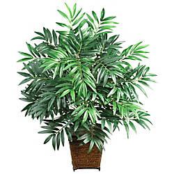 Nearly Natural 32 Silk Bamboo Palm
