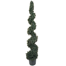 Nearly Natural 5 Silk Cedar Spiral