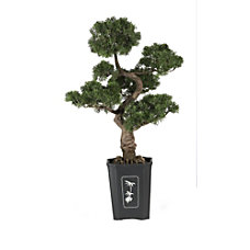 Nearly Natural 36 Cedar Bonsai Plant