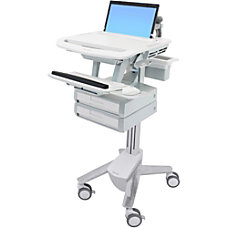 Ergotron StyleView Laptop Cart 2 Drawers