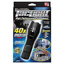 Tac Light Battery Powered Flashlight 8