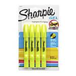 Sharpie Gel Highlighters Fluorescent Yellow Pack