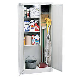 Sandusky Janitorial Supply Cabinet 66 H