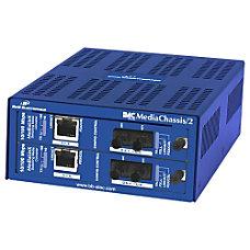 B B MediaChassis2 AC 2 slot