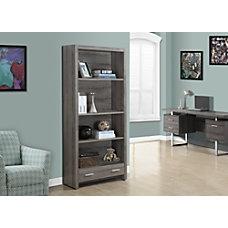 Monarch Specialties 3 Shelf 1 Drawer