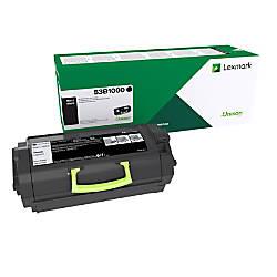 Lexmark 53B1000 Return Program Black Toner