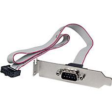 StarTechcom 1 Port 16in DB9 Serial