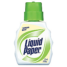 Liquid Paper Color Correction Fluid Ledger