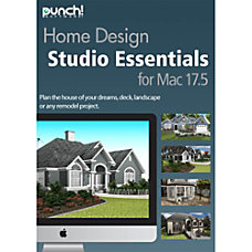 Punch Home Design Essentials v175 Mac