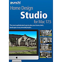 Punch home design studio v17 5 mac download version by office depot officemax for Punch home design