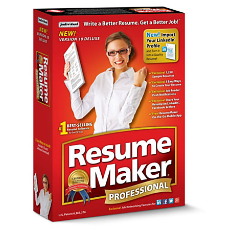 resumemaker professional deluxe 18 download version