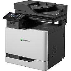 Lexmark CX820de Laser Multifunction Printer Color