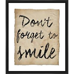 PTM Images Framed Wall Art Smile