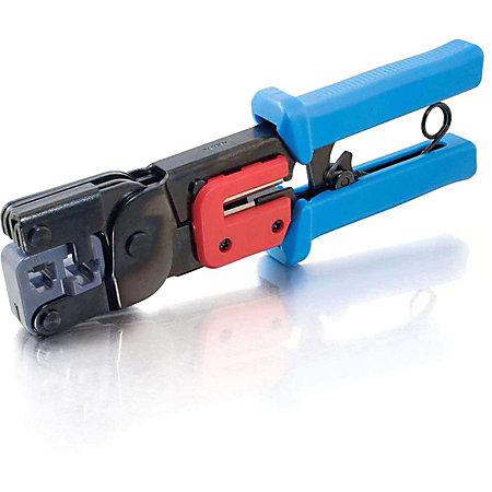 c2g rj11rj45 crimping tool with cable stripper by office depot officemax. Black Bedroom Furniture Sets. Home Design Ideas